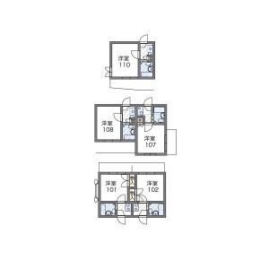 1K 맨션 in Kamikitazawa - Setagaya-ku Floorplan