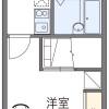 1K Apartment to Rent in Nishisonogi-gun Nagayo-cho Floorplan