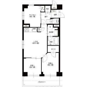 2SLDK {building type} in Minamicho - Kokubunji-shi Floorplan