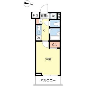 1K Mansion in Tagara - Nerima-ku Floorplan