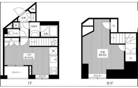 1SDK Apartment in Kikuicho - Shinjuku-ku