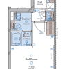 1K Apartment to Buy in Shinjuku-ku Floorplan