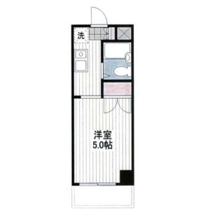 1K Mansion in Nisshincho - Kawasaki-shi Kawasaki-ku Floorplan