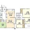 4LDK House to Rent in Ota-ku Floorplan