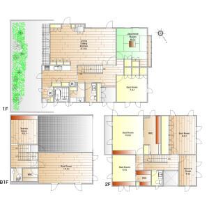 6SLDK House in Chuo - Ota-ku Floorplan