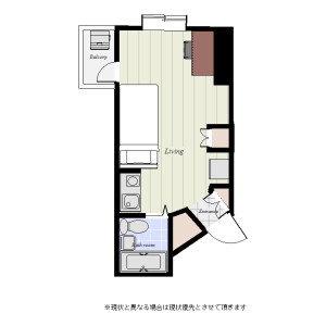 1R Mansion in Taishido - Setagaya-ku Floorplan