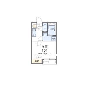 1K Apartment in Toyomaecho - Nagoya-shi Higashi-ku Floorplan