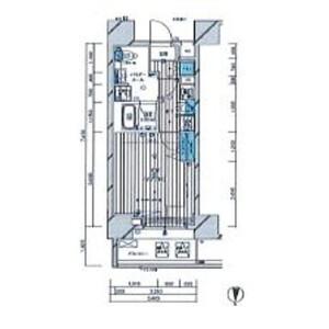 1K Mansion in Fukagawa - Koto-ku Floorplan