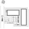 1K Apartment to Rent in Kyoto-shi Kamigyo-ku Layout Drawing