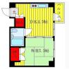 1DK Apartment to Rent in Bunkyo-ku Floorplan