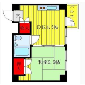 1DK Mansion in Hongo - Bunkyo-ku Floorplan