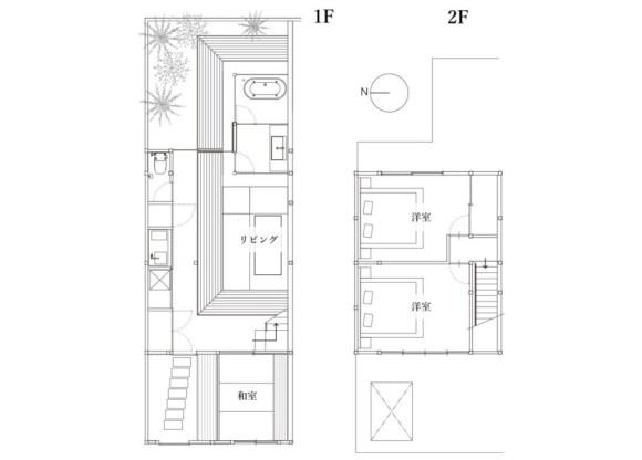 3LDK Hotel/Ryokan to Buy in Kyoto-shi Nakagyo-ku Floorplan