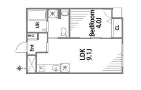 1LDK Apartment in Ikegami - Ota-ku