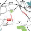 2LDK Apartment to Rent in Miura-gun Hayama-machi Map