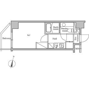 1K Mansion in Nakamura - Nerima-ku Floorplan