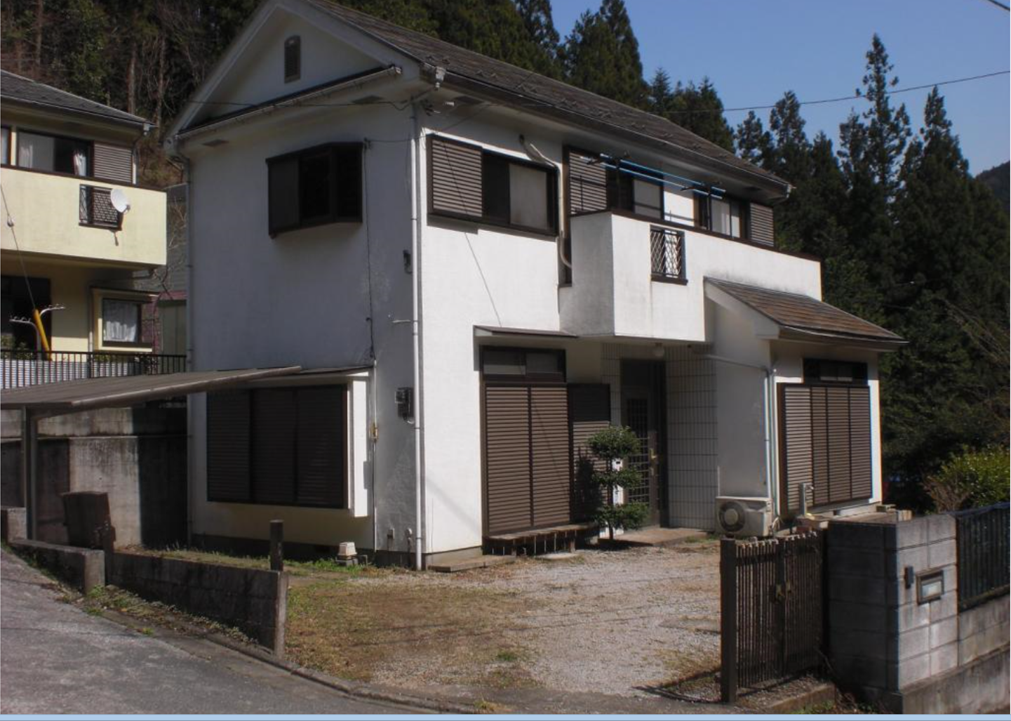 Whole building house minamikawa hanno shi saitama for Japan homes for sale