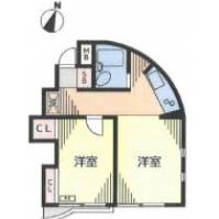 2K Mansion in Futaba - Shinagawa-ku Floorplan