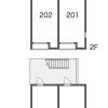 在福岡市南区内租赁1K 公寓 的 内部