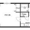 1K Apartment to Rent in Osaka-shi Yodogawa-ku Floorplan