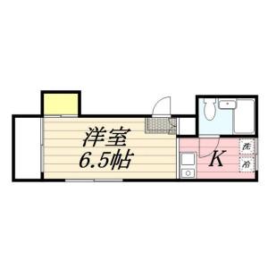 1R Mansion in Shimochiai - Shinjuku-ku Floorplan
