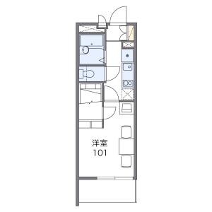 1K Mansion in Sunadabashi - Nagoya-shi Higashi-ku Floorplan