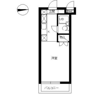 1R Mansion in Noborito - Kawasaki-shi Tama-ku Floorplan