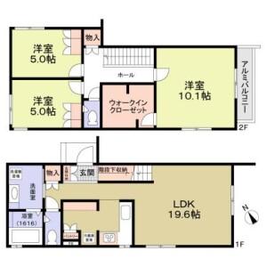 3LDK House in Nampeidaicho - Shibuya-ku Floorplan
