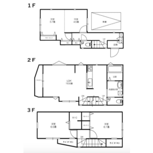 4LDK {building type} in Kitazawa - Setagaya-ku Floorplan