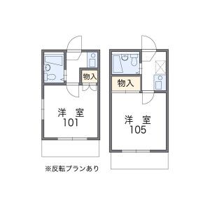 1K Apartment in Hazawa - Nerima-ku Floorplan