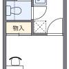 1K Apartment to Rent in Mitaka-shi Floorplan
