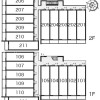 1K Apartment to Rent in Saitama-shi Omiya-ku Layout Drawing