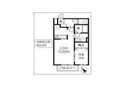 1LDK Apartment in Hanazonocho - Chiba-shi Hanamigawa-ku