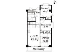 3LDK Apartment in Okusawa - Setagaya-ku
