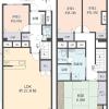 在西宮市购买4LDK 公寓大厦的 楼层布局