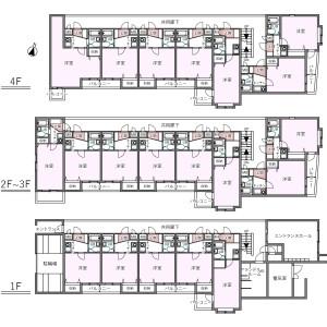 Whole Building {building type} in Hikawacho - Itabashi-ku Floorplan