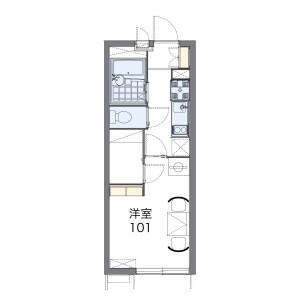 1K Mansion in Sekibara - Adachi-ku Floorplan