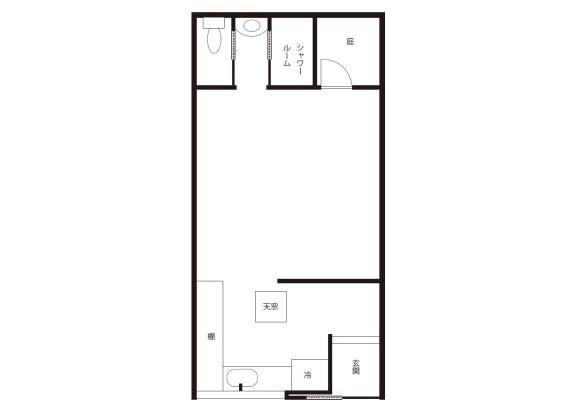 1R House to Buy in Kyoto-shi Shimogyo-ku Floorplan