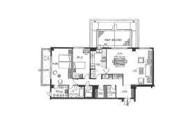 港区 - 白金 简易式公寓 2LDK