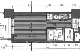 福岡市中央区高砂-1K{building type}