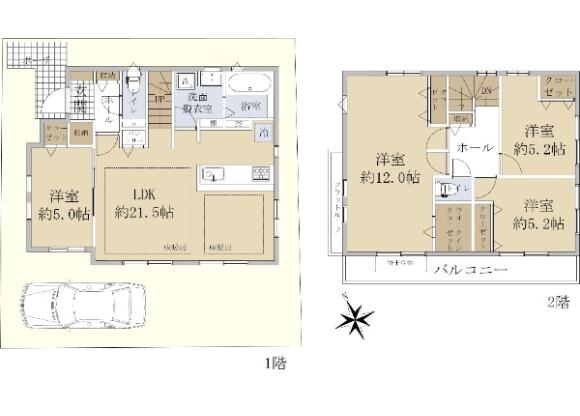 4LDK House to Buy in Nerima-ku Floorplan