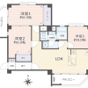3LDK Apartment to Buy in Shinjuku-ku Floorplan