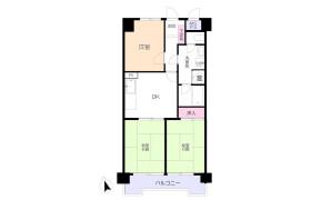 3DK Apartment in Kotobukicho - Fukuoka-shi Hakata-ku