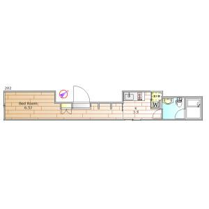 1K Mansion in Koyama - Shinagawa-ku Floorplan
