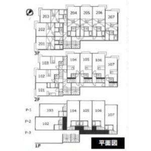 小樽市東雲町-(整棟)樓房{building type} 房間格局