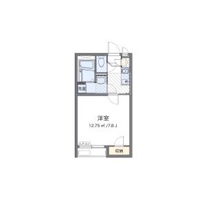 1K Apartment in Hinode - Kawasaki-shi Kawasaki-ku Floorplan