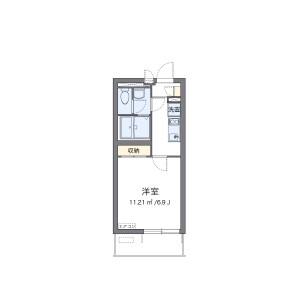 1K Mansion in Magamoto - Saitama-shi Minami-ku Floorplan