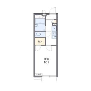 1K Apartment in Shirahata minamicho - Yokohama-shi Kanagawa-ku Floorplan