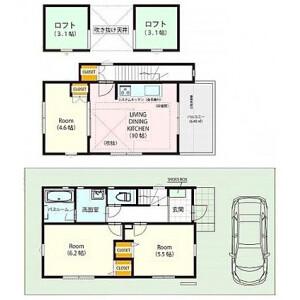 3LDK {building type} in Shimotakaido - Suginami-ku Floorplan