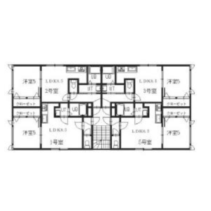 Whole Building {building type} in Minami8-jonishi - Sapporo-shi Chuo-ku Floorplan