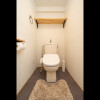 2LDK Apartment to Rent in Ota-ku Toilet